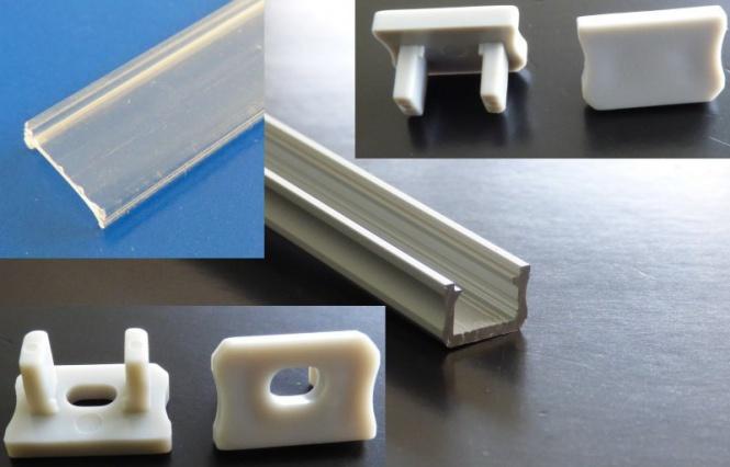 alu profil f r led stripes saubere verlegung der led. Black Bedroom Furniture Sets. Home Design Ideas