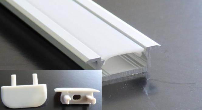 Unterputz Aluminium Profilleiste