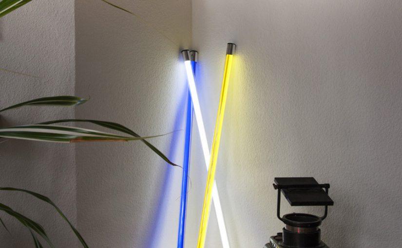 LED Röhren – farbiges und weißes Licht