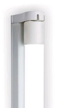 LED Röhren mit Armatur im weißem Licht