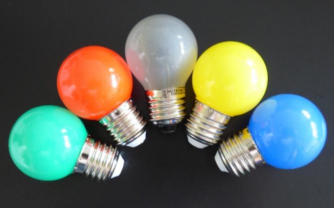 Farbige LED Lampen für dekorative Beleuchtungen