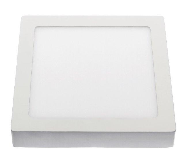 LED Deckenpanel Aufbau eckig