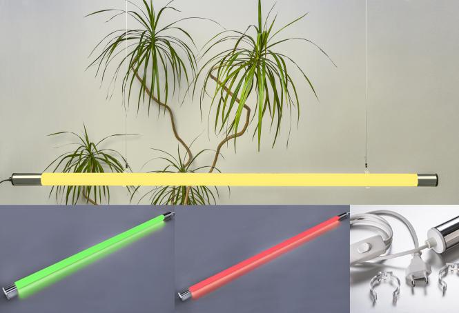 """NEU: LED Leuchtstab """"FROZEN"""" mit Stecker und Schnurschalter"""