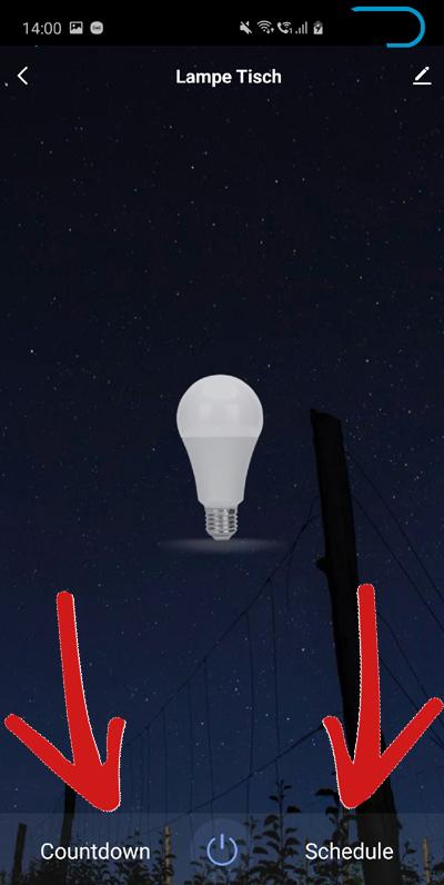 Einrichtung Smart Home - LED Lampen steuern