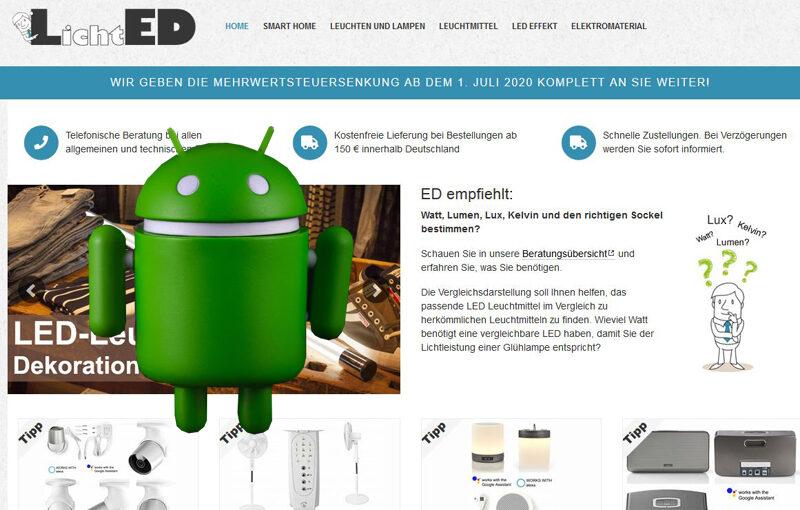 Der Google Bot registriert sich und geht in Onlineshops einkaufen