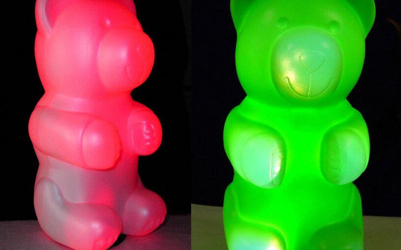 Kinderzimmer Lampe – Teddybären Lampe für das Kinderzimmer