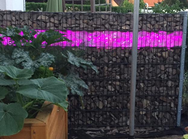 Gabionen Leuchten: Stilvolle Lichtideen für Gabionen Steinzäune