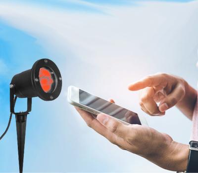 smarter LED Erdspießstrahler