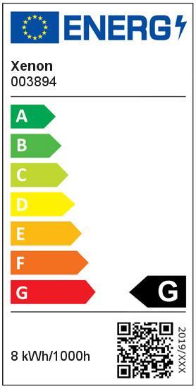 Gartenspot schwarz mit Erdspieß+Anschlußkabel LED warmweiß 8 Watt 560 Lumen 230 V