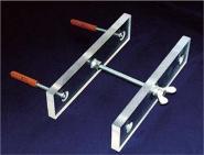 Acryl Befestigungs-Set 10 cm für Seiltechnik