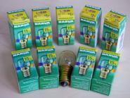 Backofen Leuchtmittel E14 230 V 15 Watt klar 10er Pack