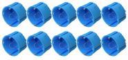 UP Dosen Hohlwand 60x40 mm 10-er Pack blau