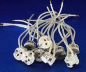 Fassung Keramik Gx5,3 Kabel ca. 150 mm 10er Pack