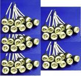 Fassung Keramik Sockel GU10 Kabel ca. 150 mm 50er Pack