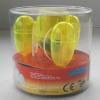 Fassung Space E27 gelb transparent 6er Pack