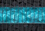 Gabionen LED Leuchte 360° Abstrahlwinkel 0,85 m 3er SET RGB inkl. Fernbedienung