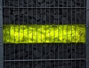 Gabionen Leuchte LED 360° 2x0,9m gelb 2er SET