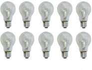Glühlampe Glühbirne E27 40 Watt klar 10er Pack