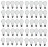 Glühlampe Glühbirne E27 40 Watt matt stossfest 50er Pack