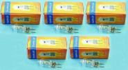 Halogen Stift-Sockelampe G6,35 230 V 150 Watt 5er Pack