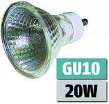 Halogenlampe Sockel GU10 230 V 20 Watt klar