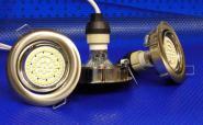 LED Einbauspot 190 Lumen chrom kaltweiß 3er Set
