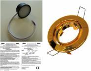 LED Einbauspot 5 Watt 350 Lumen dimmbar Messing warmweiß
