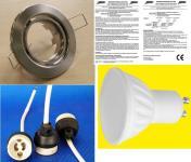 LED Einbauspot 8 Watt 560 Lumen Eisen warmweiß 10er SET