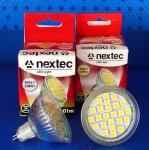 LED Lampe 4 Watt 12 Volt Gx5,3 Schutzglas 300 Lumen kaltweiß