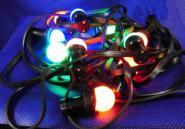 LED Lichterkette 7,30 m E27 für Außen IP44