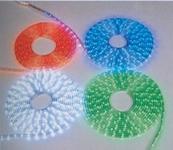 LED Lichtschlauch rund 9 m kaltweiß klar Ø 13 mm