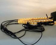 LED Regalbeleuchtung 2x0,3 m warmweiß inkl. Netzteil