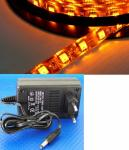 LED 1m Stripe Set 60x 5050 SMD gelb IP63 mit Netzteil