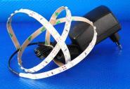 LED SET 2,5m 150x 3528er SMD LED rot IP20 + Netzteil
