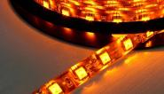 LED SET 1m 60x 5050er SMD LED gelb IP20 mit Netzteil