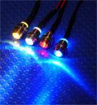 LED Sternenhimmel 50x LEDs Ø 9,5 mm blau + Trafo