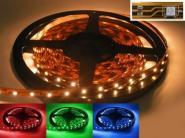 LED Streifen 5m RGB 300x 5050er LEDs mit Silikon IP63