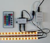 LED Streifen Lauflicht Las Vegas 3x0,5m kaltweiß