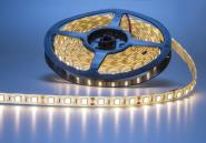 LED 1m Streifen warmweiß 60x 3528er SMD LEDs IP63 weiß