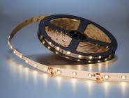 LED Streifen warmweiß 5m 300x 3528 SMD LEDs IP20 weiß