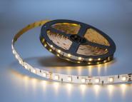 LED Streifen warmweiß 5m 5050er LEDs IP20 weiß