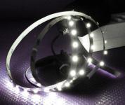 LED Stripe Set 1m 60x 3528 SMD LED kaltweiß IP20 + Netzteil