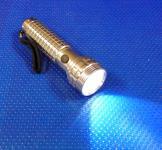 LED Taschenlampe Alu mit 1 Power-LED