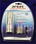 LED Taschenlampe 9 LEDs ARC9