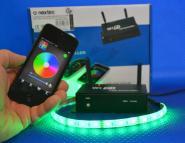 LED Wifi Controller inkl. Fernbedienung +für Handy