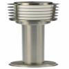 LIMA Edelstahl Standleuchte 230 V E27 H: 1050 mm