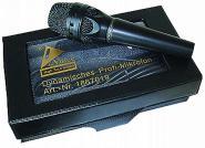 Mikrofon dynamisch inkl. 5 m Anschlußkabel + Koffer