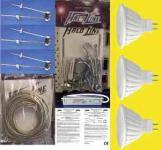 Seilsystem 3xStab 125 mm 280 Lumen LED schwarz warmweiß