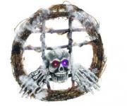 Totenkopfkranz Frameweb2 mit LED Effekten