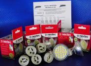Umbau Stromsparen 300 Lumen LEDs kaltweiß 5er Set
